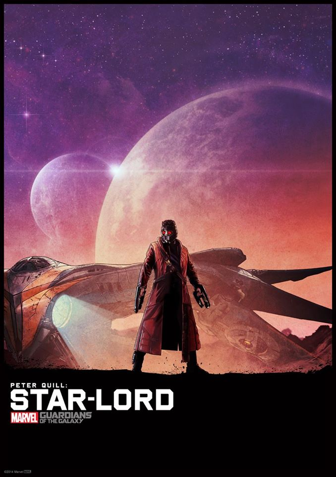 STAR LORD Matt Ferguson