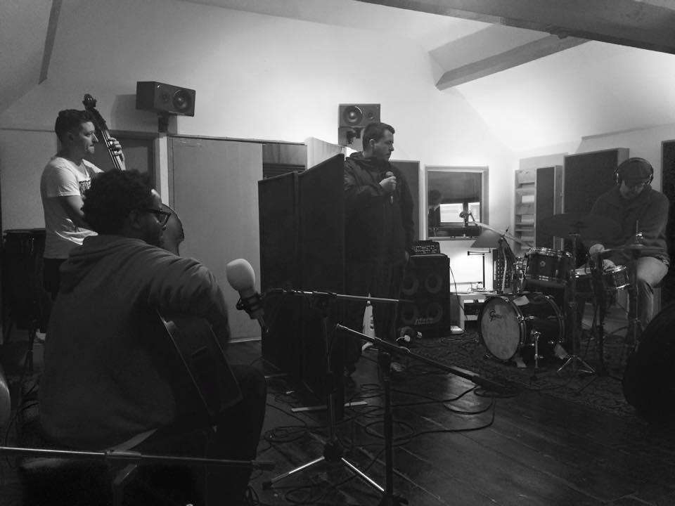In the studio with Daudi Matsiko