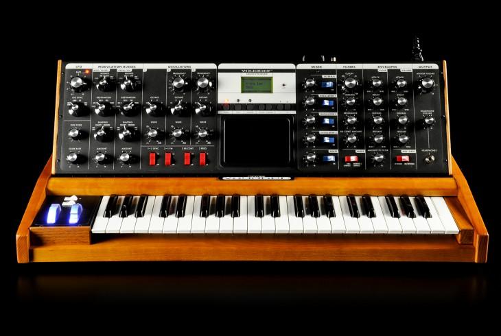 Moog Voyager Pic: moogmusic.com