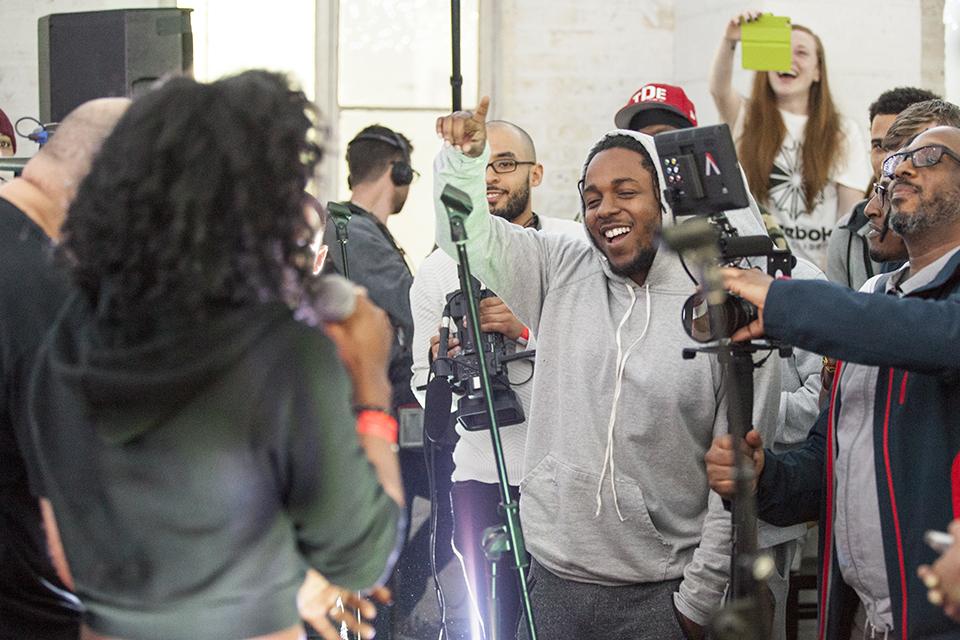 Kendrick Lamar at Brighter Sound 11Mar16 2 Credit Rachel Bywater