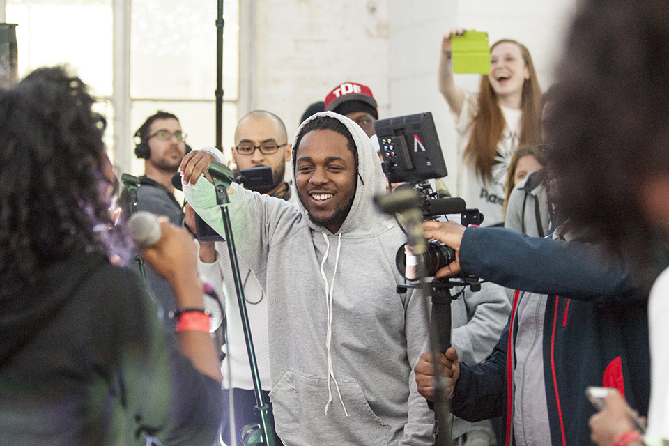 Kendrick Lamar at Brighter Sound 11Mar16 3 Credit Rachel Bywater