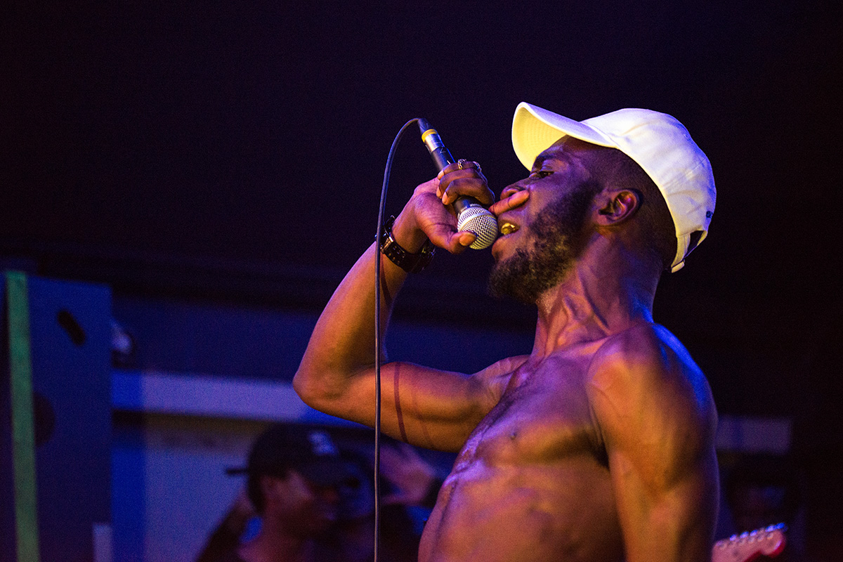 Kojey Radical performing at O2 Institute 3, Birmingham on 24th June 2016