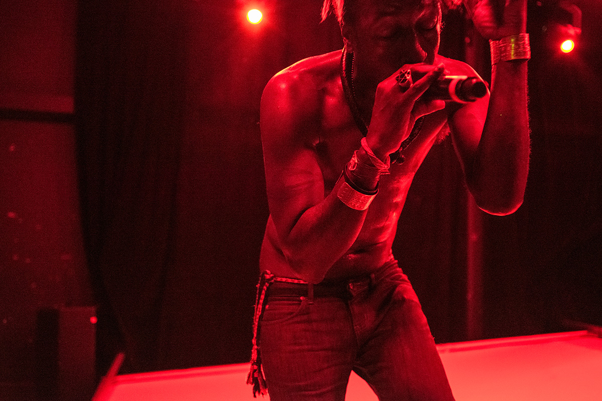 Saul Williams performing at O2 Institute 3, Birmingham on 24th June 2016