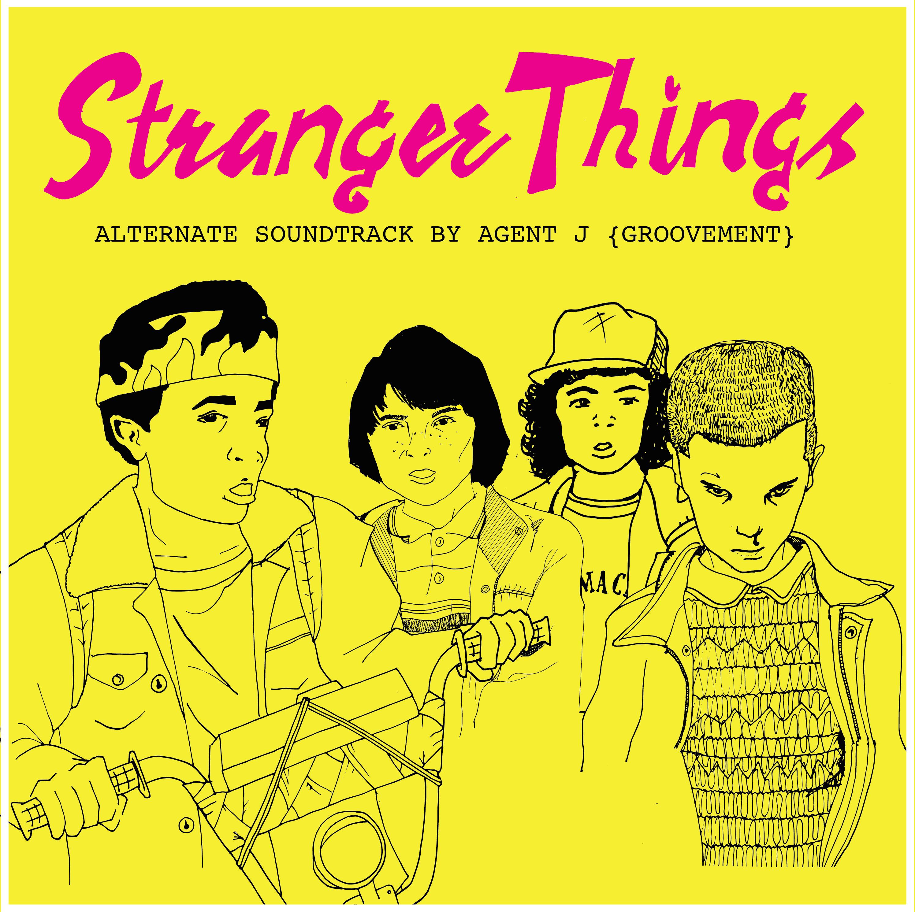 stranger things paper girls agent j