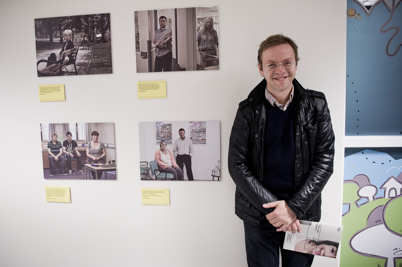 Photo copyright: Richard Hanson (0793 908 1208) richard@hansonphoto.co.uk You're not Alone opening night, The Children's Hospital, Sheffield. Commissioned by Cat at the TCH Charity. 23.2.12 Original job no: 2862