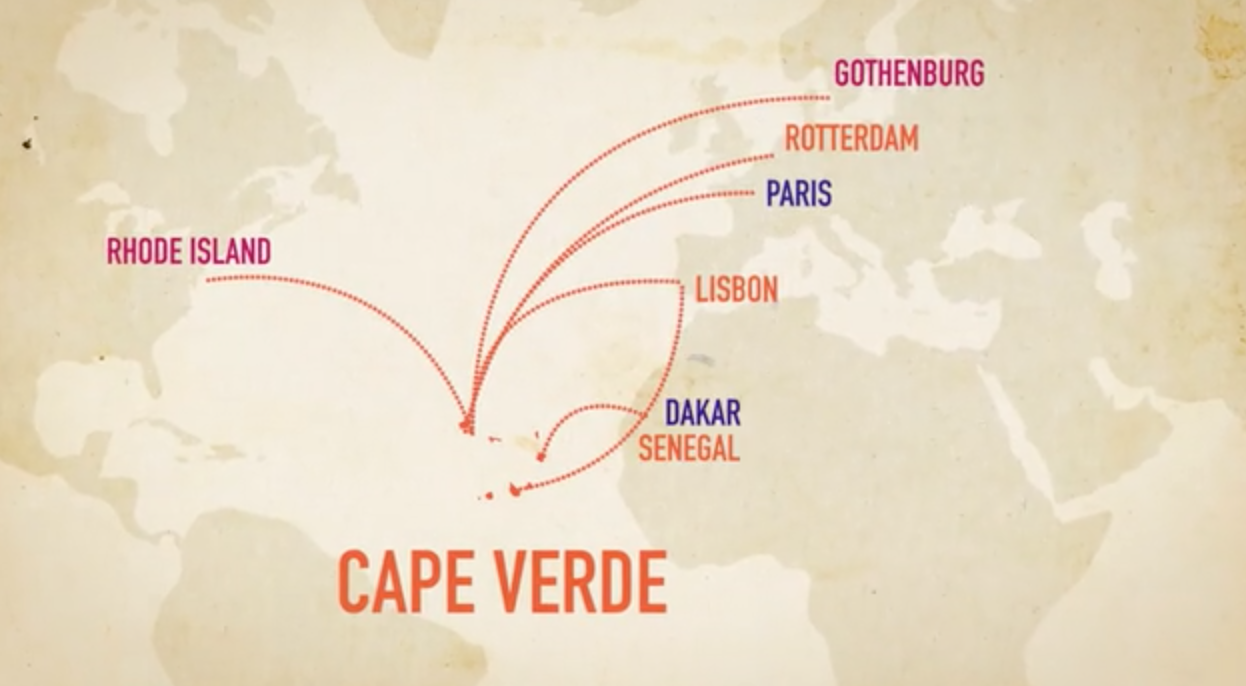 Cape Verde to the world.